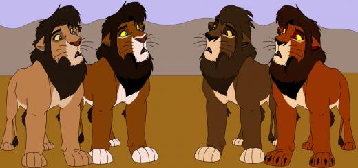 Цирк со львами