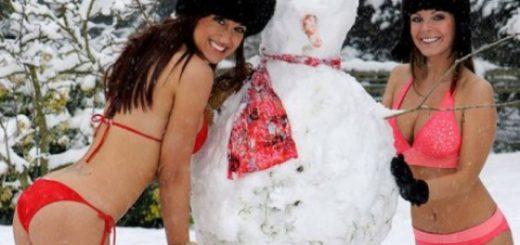 Снежную бабу