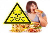 Вся еда вредная